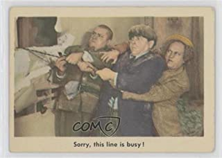 Sorry, This Line is Busy! COMC REVIEWED Good to VG-EX (Trading Card) 1959 Fleer The 3 Stooges - [Base] #95