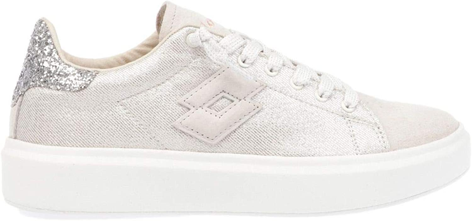 Lotto Women's T4616 White Suede Sneakers