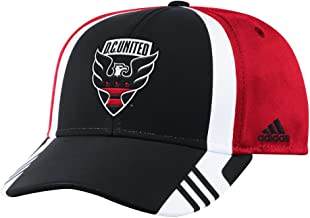 adidas DC United MLS 2017 Authentic Team Structured Adjustable Hat
