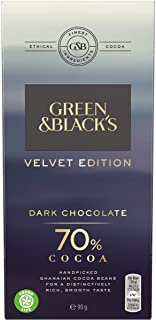 Green & Blacks Velvet 70% Dark Chocolate 90g