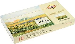 KOH-I-NOOR 016160300000 16 ml Oil Colour Paint (Pack of 10)