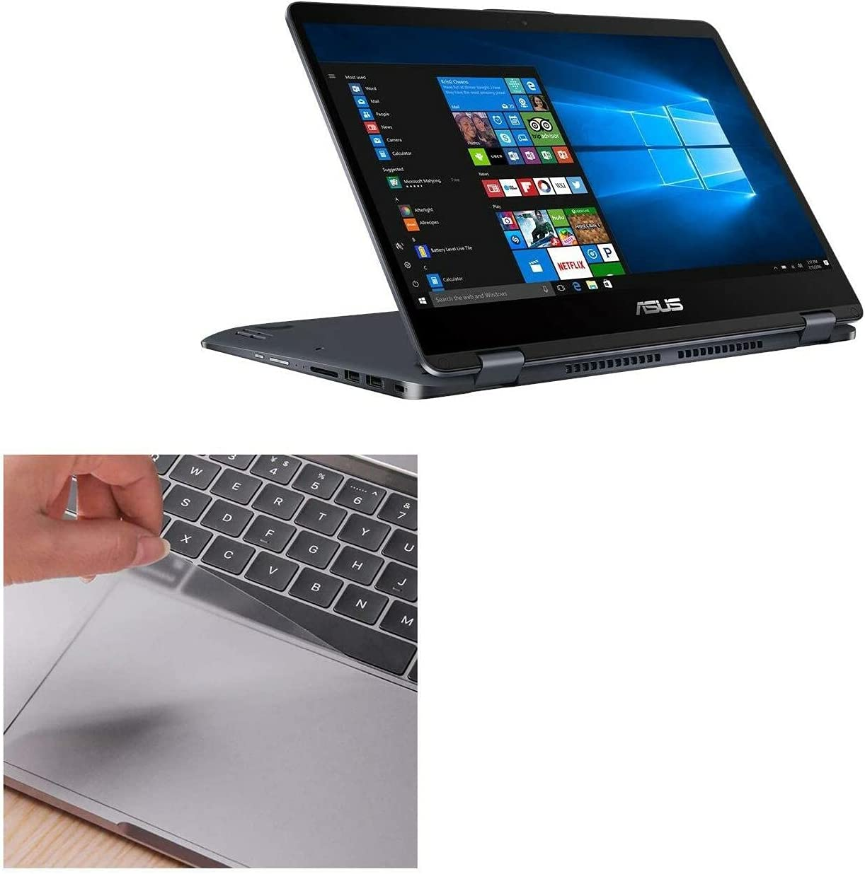 Max 81% OFF Touchpad Protector for ASUS Flip VivoBook 14 Atlanta Mall