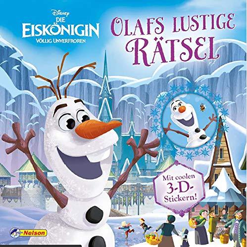 Ve 5 Disney Die Eiskönigin. Olafs Lustige Rätsel. Mit Coolen 3-D-Stickern (Disney Eiskönigin)