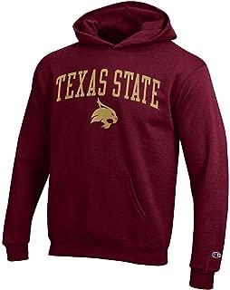 NCAA Kids Hoodie Sweatshirt Team Color Arch