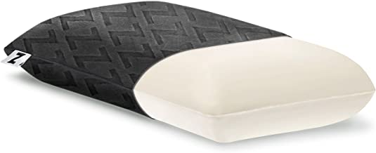 MALOUF Z Travel DOUGH Memory Foam Pillow Removable Rayon from Bamboo Velour Cover 5-Year U.S. Warranty