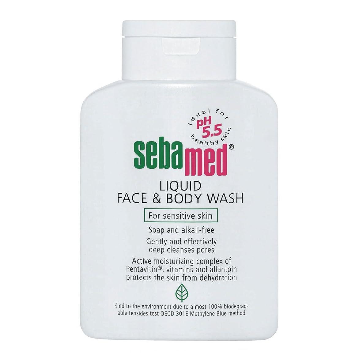 のため下線批判Sebamed Liquid Face And Body Wash 200ml [並行輸入品]