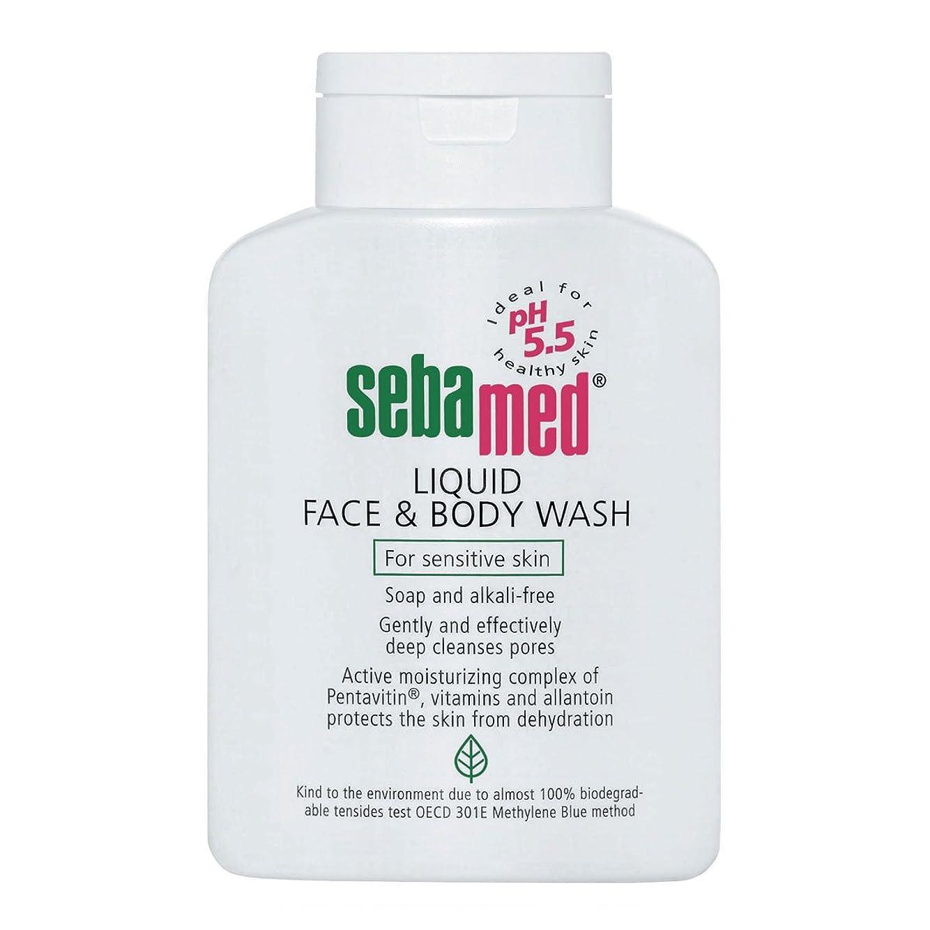 パニック特に人形Sebamed Liquid Face And Body Wash 200ml [並行輸入品]