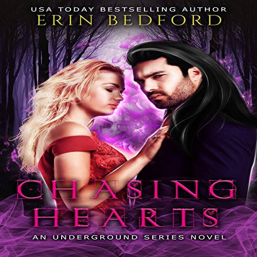 Chasing Hearts audiobook cover art