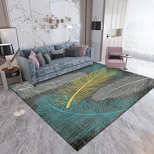 Gpink Cute Cartoon Carpet Living Room Coffee Table Floor Mat Bedroom Bedside Blanket Washable Thick Non-Slip Large Area Floor Mat