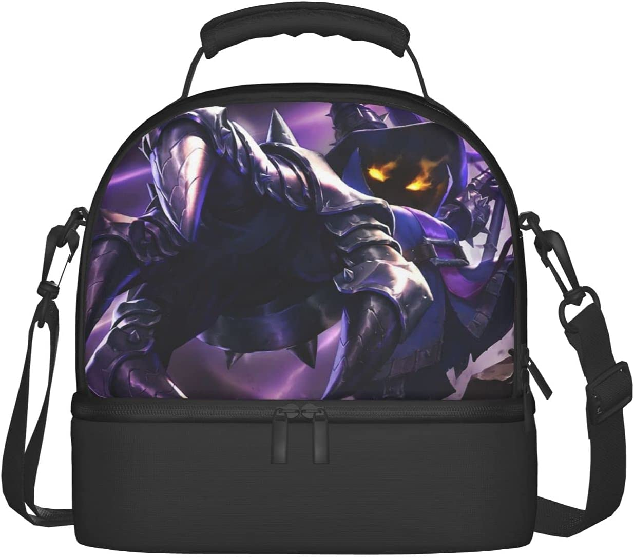 Veigar The Tiny Master of Evil Dual Import Low price Bag Compartm Lunch Insulated