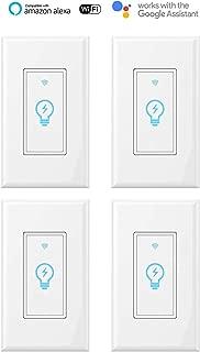 thermostat light switch