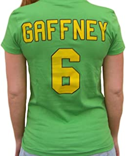 Julie The Cat Gaffney #6 Mighty Ducks Movie Jersey T-Shirt Costume Goalie