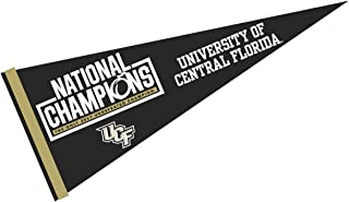 College Flags and Banners Co. Central Florida Knights 2017 Undefeated Natonal Champions Pennant