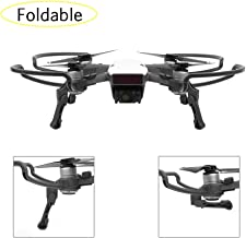 Nicertain DJI Spark Accessories Kits, Propeller Guards + Foldable Landing Gear Leg Extenders, 2 in 1 Accessories Set for DJI Spark Drone