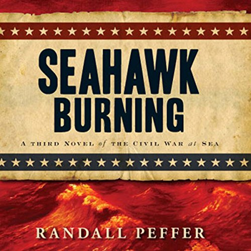 Seahawk Burning audiobook cover art