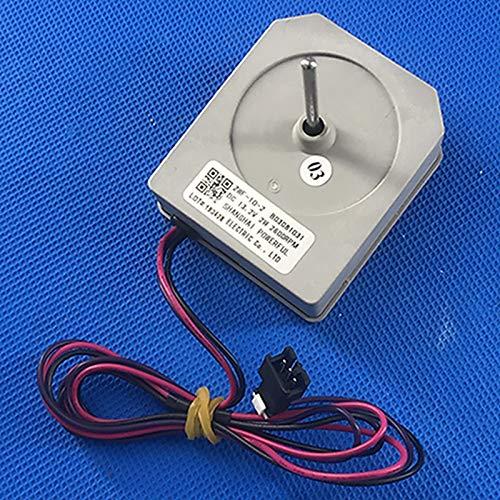 JINGERL Reemplazo ZWF-10-2 B03081031 Motor de Ventilador DC Fit para Hisense Ronshen Fan de refrigerador Partes de reparación