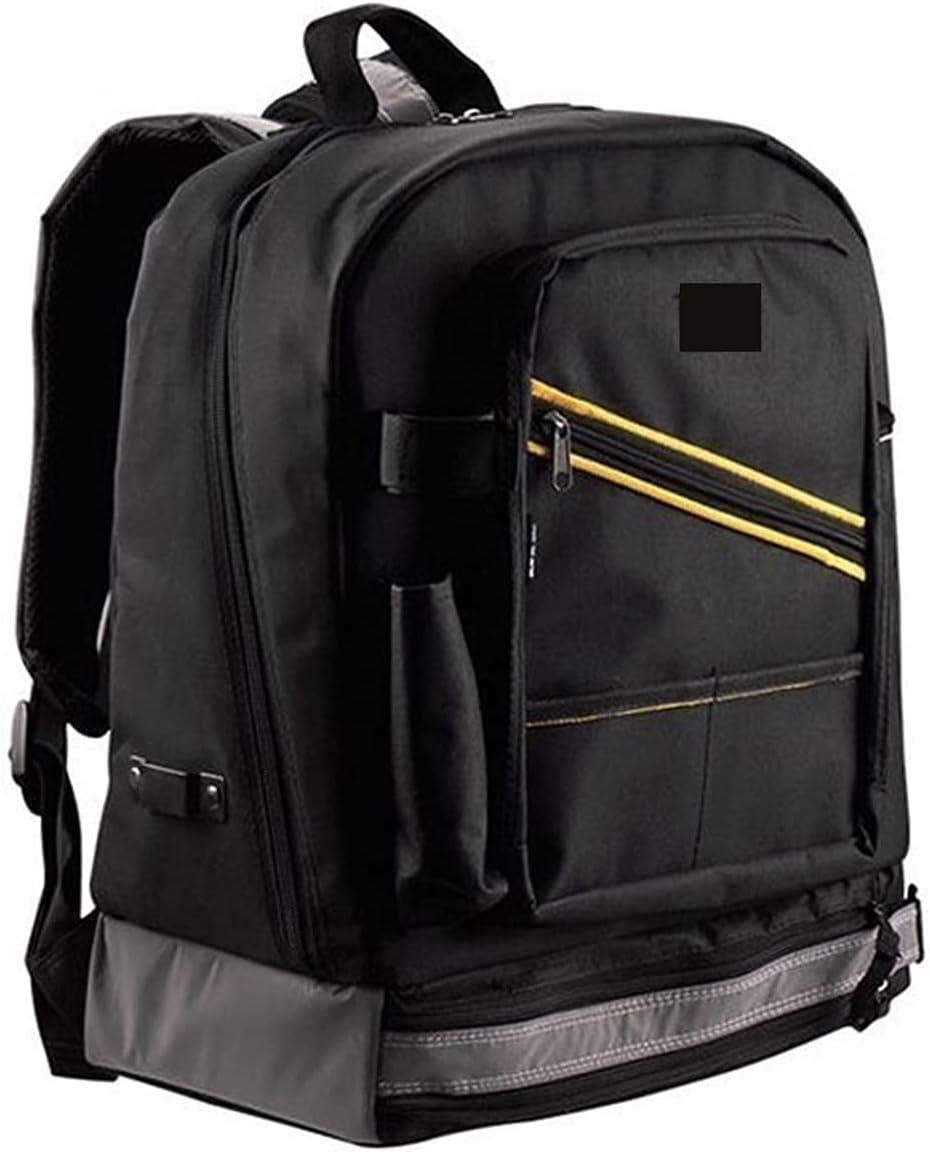 IOPQQ Multifunctional Waterproof Backpack Tool Work Storage Bag