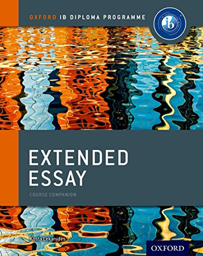 IB Extended Essay Course Book (IB Diploma Program)