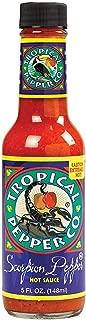 TROPICAL PEPPER, Sauce, Scorpion Pepper, Pack of 12, Size 5 FZ, (Dairy Free Kosher Vegan)