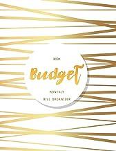 Budget Book Monthly Bill Organizer: 12 Month Budget Planner Book, Budget Organizer Journal Notebook Finance Planner, Money Organizer, Debt Tracker