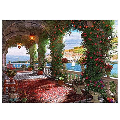 KSER Papier Adult Puzzle 1000pcs Rose Korridor Puzzle 1000 Teile Für Zuhause Puzzle selber Machen kostenlose Puzzle geduldspiele tiptoi Puzzle Puzzle kaufen Puzzle