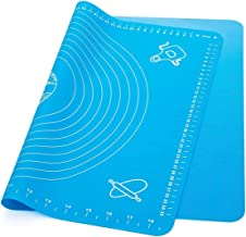 Silicone Knead Flour Dough Non-stick Pastry Fondant Cake Cooking Baking Oven Mat Placement Pad-Blue