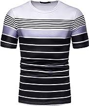 NOBRAND Camiseta de manga corta para hombre en verano