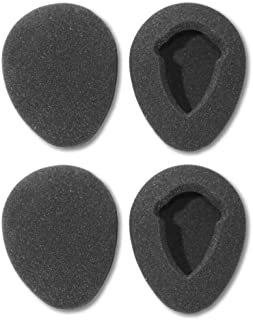 Two Pairs of 80mm Foam Earpads fits Infrared Wireless Headphones in GM Ford Toyota Nissan Honda Automobile Entertainment D...