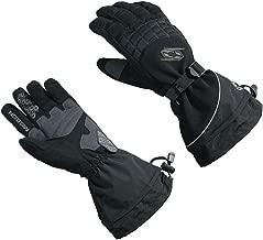 Castle X Mission Mens Snowmobile Gloves - Black - XLG