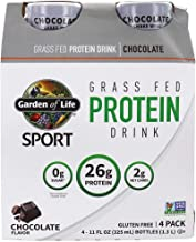 Garden of Life - Sport Grass Fed Protein Drink RTD Chocolate - 4 Botella (s)