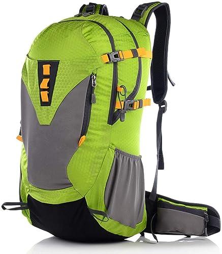 Lounayy Sac Alpinisme Outdoor Ultra Professional Wear Randonnée élégante De La Mode Résistant à La Lumière Package Sport De Plein Air Noir (Couleur   vert1, Taille   One Taille)