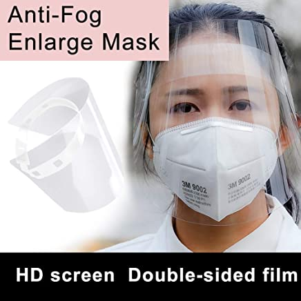 djim45aoy Transparent Anti Droplet Oil Dust-proof Full Face Protection Mask Visor Shield