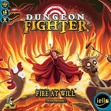 IELLO Dungeon Fighter: Fire at Will Board Game