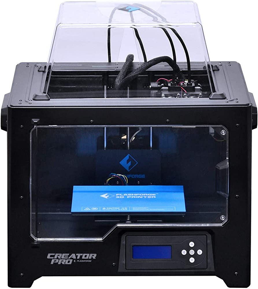 Flashforge,stampante 3d creator pro,doppio estrusore,aggiornata holder spool 10745