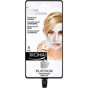 Iroha Nature - Mascarilla Facial Iluminadora Peel Off con Platino ...