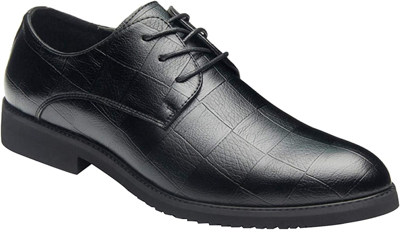 Oudan Men's Brogue shoes Lace Derby shoes Business Dress Casual shoes Fashion (color   10, Size   39EU)