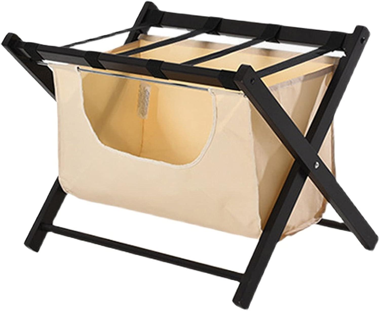 Popular brand in the world Luggage Rack Hotel Folding Solid Wood Home Alternative dealer w Hanger
