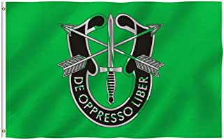 Oersted Us Army Green Beret Special Forces Anyone Else Outdoor Flag Home Garden Flag Decorative Flag 3X5 Feet
