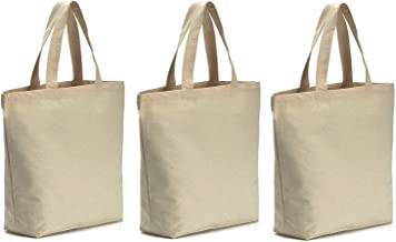 Axe Sickle 3PCS Canvas Tote Bag Bottom Gusset 16 X 16 X 4.6 inch Heavy 12oz Tote Shopping Bag, Washable Grocery Tote Bag, Craft Canvas Bag, White.