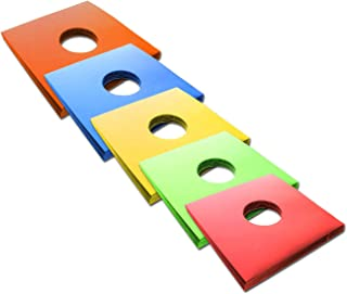 CUIDATUMUSICA 25 Fundas - Carpetas de Carton para Discos de Vinilo LP en Colores Variados/Ref. 1428