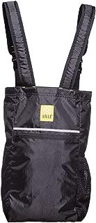 LÍLLÉbaby Dash Totepack, Water Resistant Lightweight Tote Bag Diaper Bag - Black (Reflective)