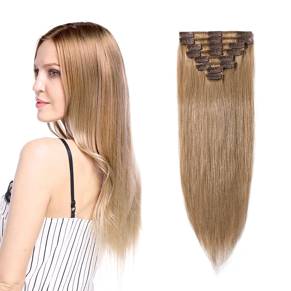 Clip in Indianapolis Mall Extensions 100% Remy Human Short Sof Long High material Hair Full Head
