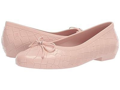 Mini Melissa VWA + Melissa Margot Ballerina AD (Toddler) (Light Pink) Girl