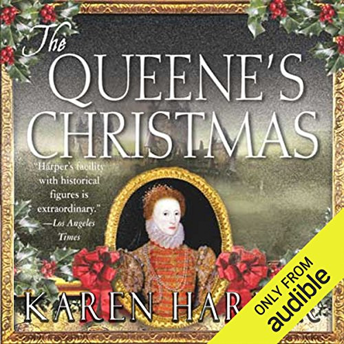 The Queene's Christmas audiobook cover art