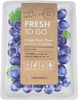 Tonymoly Fresh To Go Grape Mask Sheet, 25g