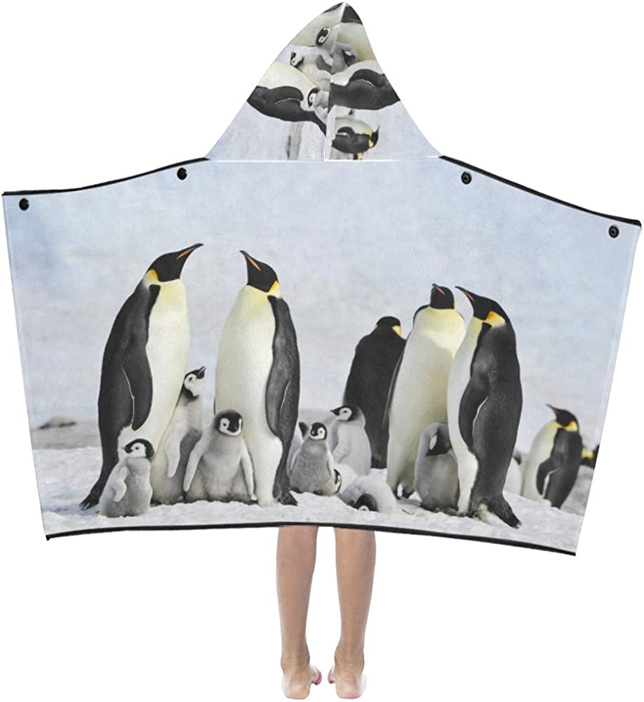 VvxXvx Toddler Hooded Blanket Cartoon Fixed price Rare for sale Swing Penguin Cute Dancing