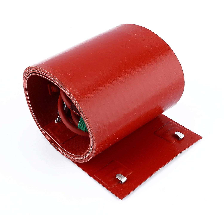 Akozon Superlatite Reservation Silicon Metal Oil Drum Insulated Heate Heater Pail Gallon