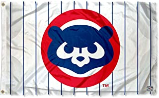 WinCraft Chicago Cubs Vintage 80s Logo Flag and Banner