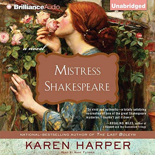 Mistress Shakespeare audiobook cover art