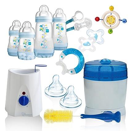 Flaschenw/ärmer 2 in 1 Babykostw/ärmer Sterilisator schnellen und schonenden Erw/ärmung Geeignet f/ür Zwillinge